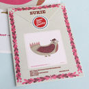 Mini Daddy Bird Cotton Handkerchief