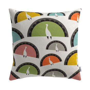 Peacocks Cushion