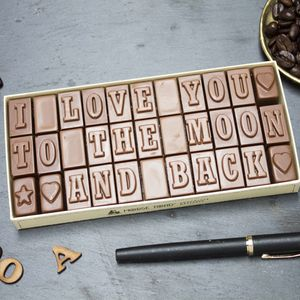 10% Off Chocolate Love Letter - stocking fillers