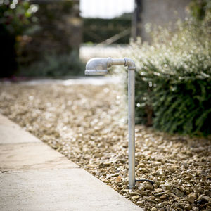 Galvanised Path Light