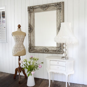 Antique Adorned Mirror - mirrors