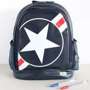 Bobble Art 'Stars And Stripes' Backpack