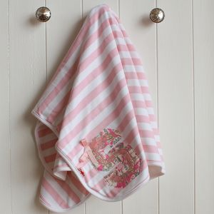 Personalised Summer Letter Baby Blanket - blankets, comforters & throws