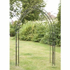 Gothic Steel Garden Arch Made In Britain - arches, pergolas & screening