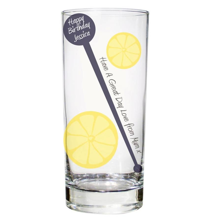 Contemporary Gin Glasses