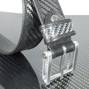 Carbon Fibre And Leather Belt