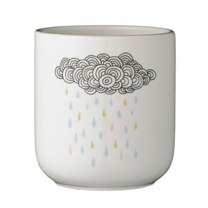 Ceramic Rainfall Pot - kitchen accessories