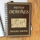 'British Drawings' Upcycled Notebook