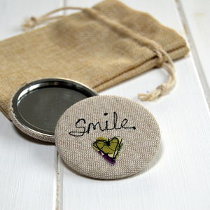 Smile Handbag Mirror