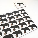 Baby Bear Coasters And Placemats