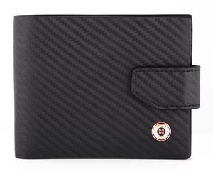 Carbon Fiber Design Leather Wallet