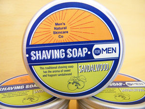 Handcrafted Shaving Soap Sandalwood