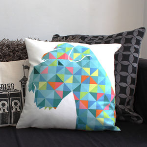 Geo Schnauzer Cushion - new in home