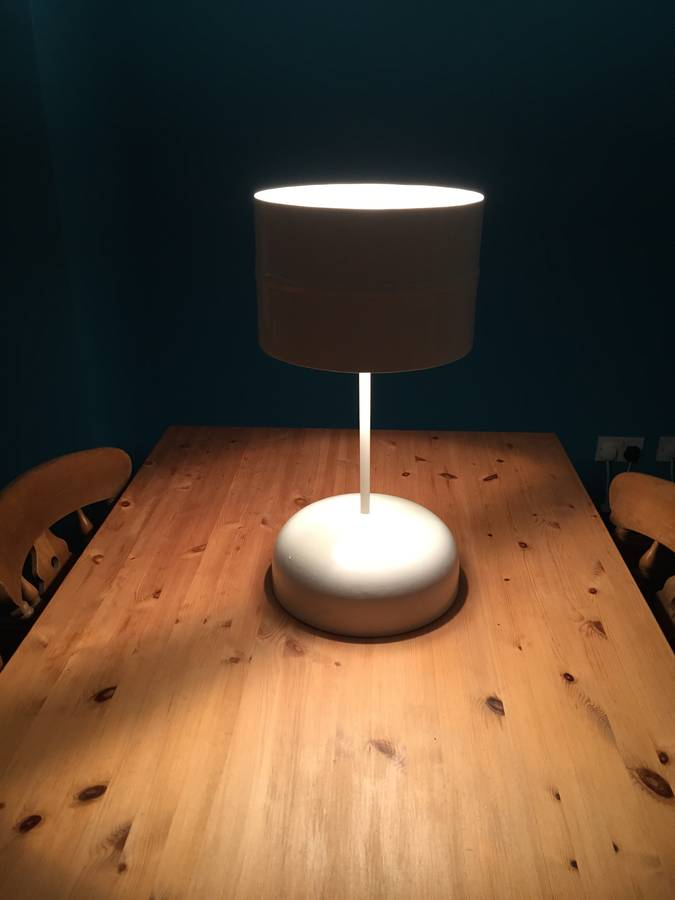 Lastest Desk Lamp Made From Recycled Cardboard