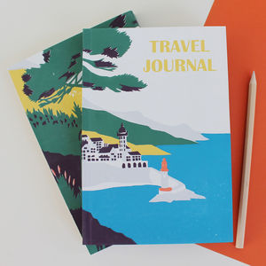 Travel Journal Lighthouse - travel journals & diaries