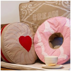 Biscuit Cushions - cushions
