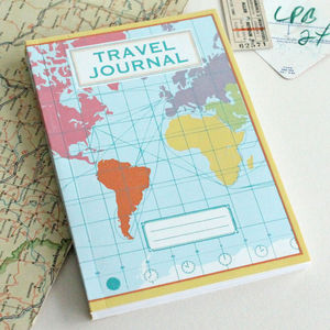 World Map Travel Journal - toys & games
