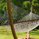 Corda Double Rope Hammock With Spreader Bars