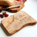 'Mr And Mrs' Cheese / Chopping Board