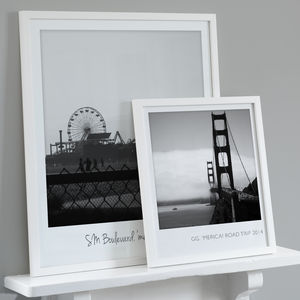 Personalised Giant Retro Style Photo Print - canvas prints & art