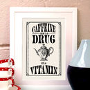 Vintage Style Coffee Kitchen Print