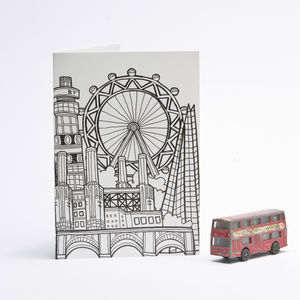 Sightlines London Card London Eye - all purpose cards, postcards & notelets