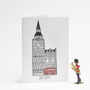 Sightlines London Card Big Ben - all purpose cards, postcards & notelets