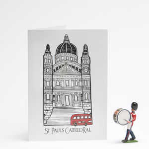 Sightlines London Card St Paul's Cathedral - all purpose cards, postcards & notelets
