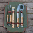 Personalised Complete Bbq Tool Set