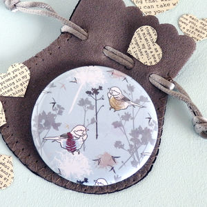 Dandelion Pocket Mirror