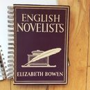 'English Novelists' Upcycled Notebook