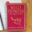 'Wild Flowers' Upcycled Notebook