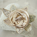 Silk Bridal Rose