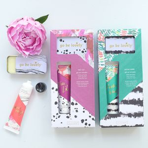 Hand Cream And Solid Perfume Tin Gift Set
