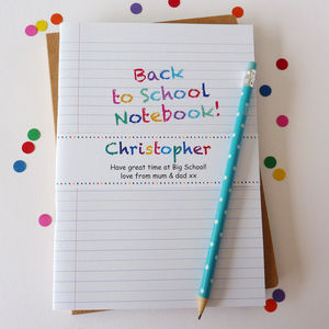Back To School Notebook - back to school essentials