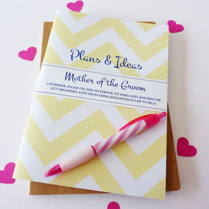 Mother Of The Groom Notebook - albums & guest books