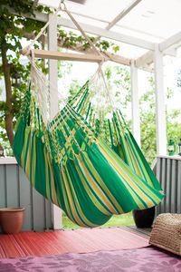 Cayo Lime Hanging Chair - garden furniture