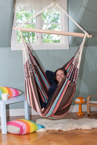 Cayo Mocca Hanging Chair - garden furniture