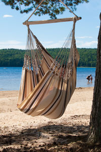 Cayo Latte Hanging Chair