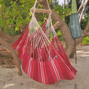 Cayo Bordeaux Hanging Chair