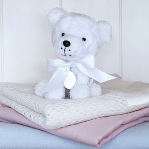 Personalised Paws Polar Bear - soft toys & dolls
