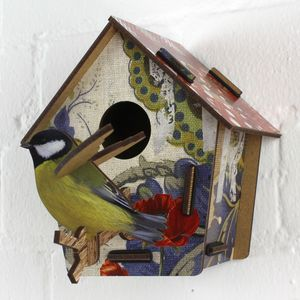 Decorative Bird House Poppy Seed - art & pictures