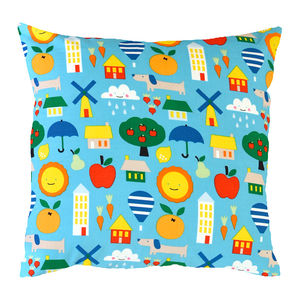 Little City Cushion - cushions