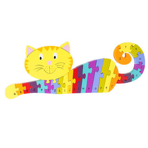 Colourful Cat A To Z Puzzle