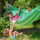 Iguana Jungle Green Single Hammock
