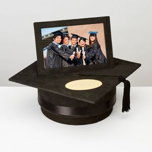 Graduation Mortar Board Photo Frame - home accessories