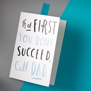 'Call Dad' Card