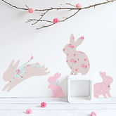 Children's Rabbit Wall Stickers - home