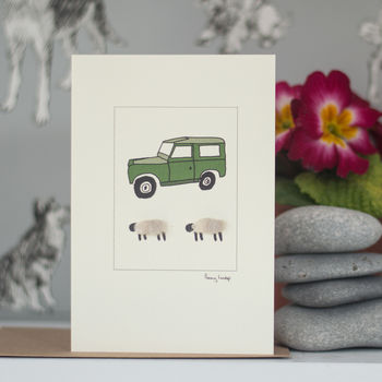 Sheep And Farm Greeting Cards
