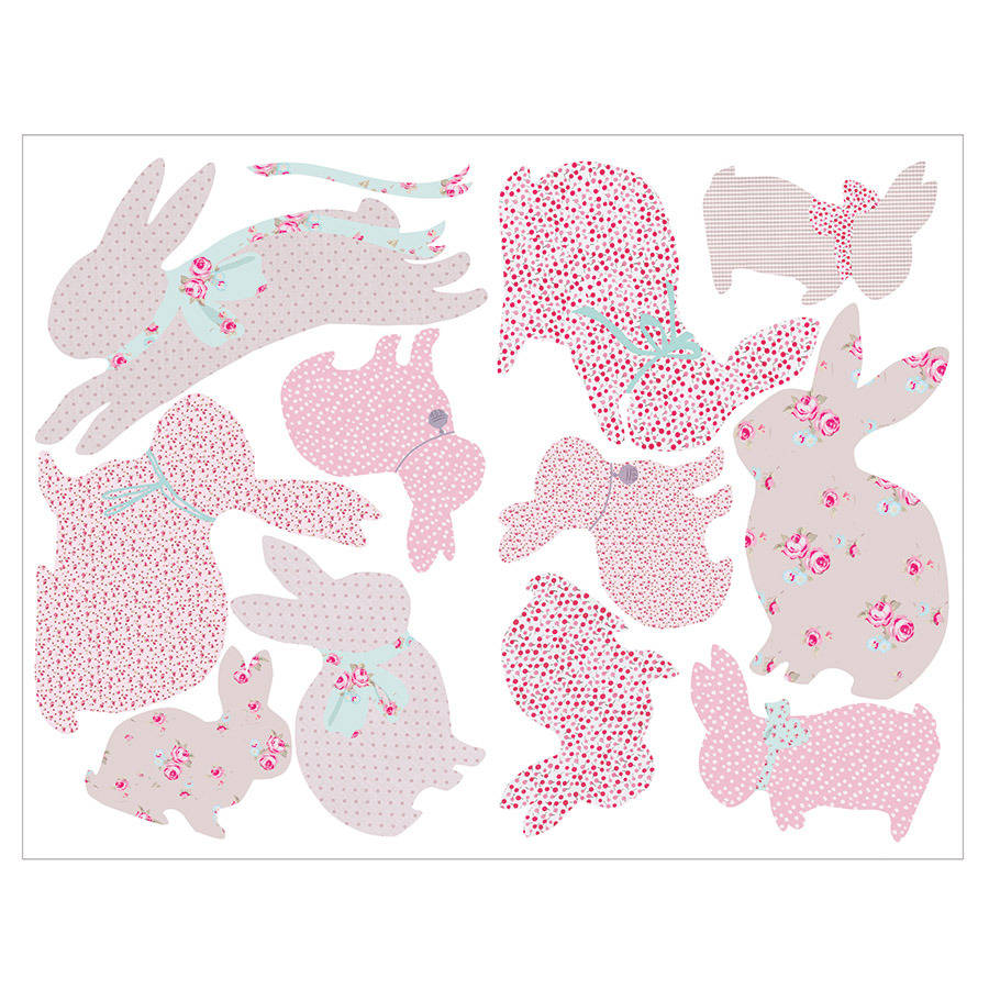 children s rabbit wall stickers by koko kids childrens transport vehicles cars wall stickers decals